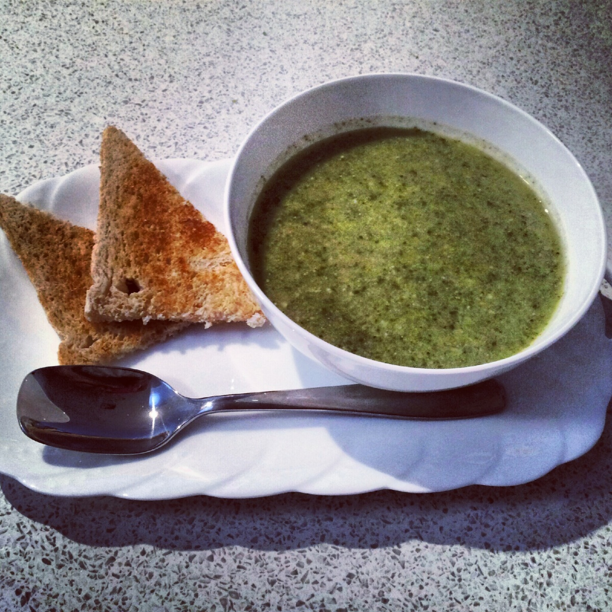 Essential green soup by Donna Hay